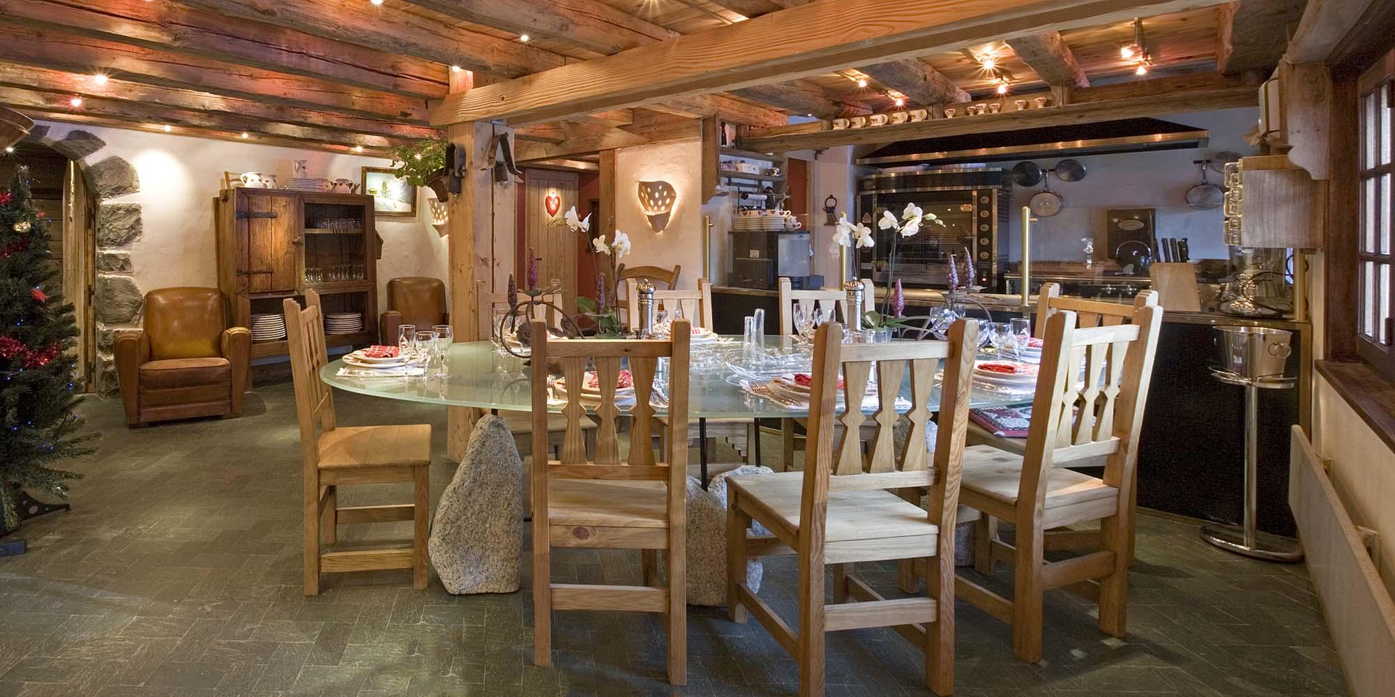Restaurant gastronomique Les Tables de Philippe Chamonix