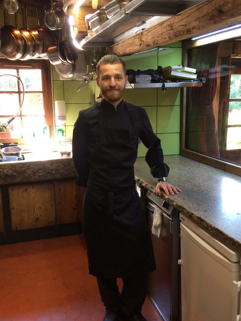 Léon Guy Chef Restaurant Les Tables de Philippe Chamonix