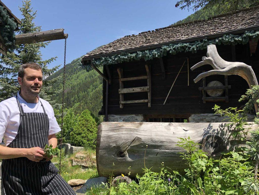 Teo Hadzhiyski Chef du restaurant gastronomique Les Tables de Philippe à Chamonix Mont-Blanc