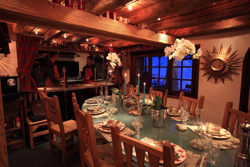 restaurant chamonix les tables de philippe