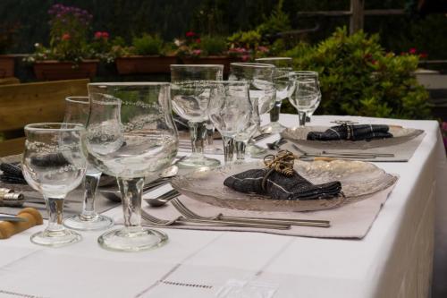 Jardin alpin - Restaurant Les Tables de Philippe Chamonix Mont-Blanc